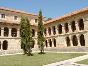 Caleruega chiostro del monastero