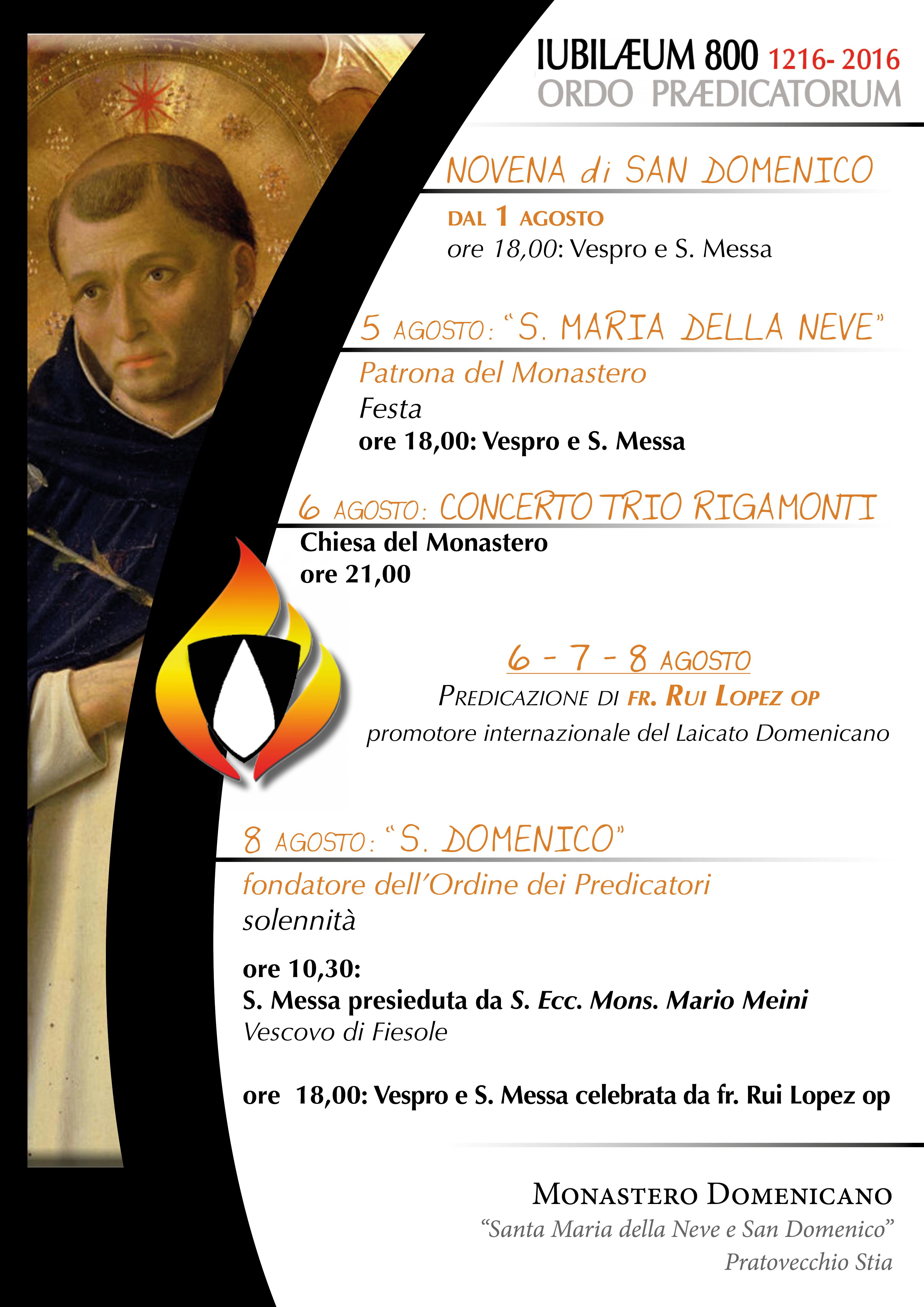 novena di s. Domenico 2016
